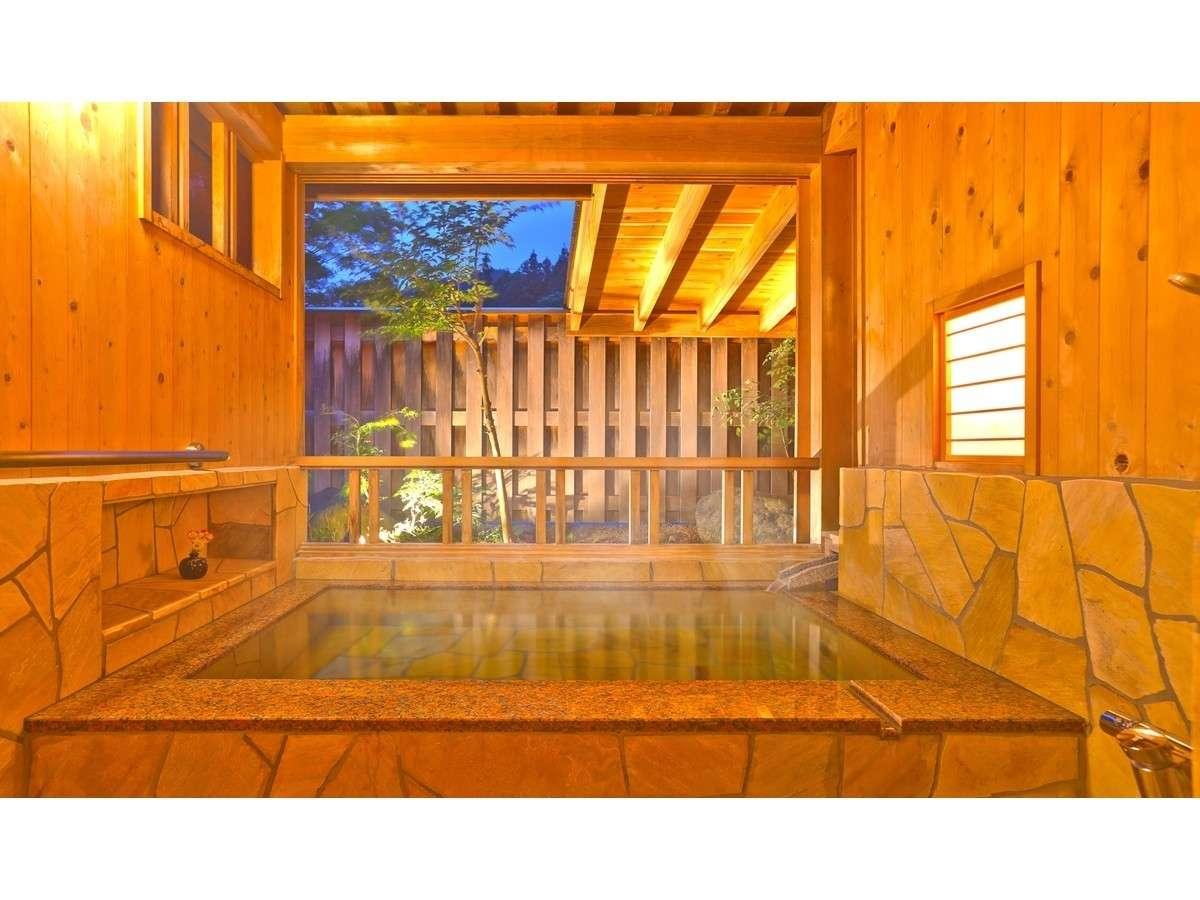 ご宿泊のお客様は無料 貸切露天風呂「えぼしの湯」