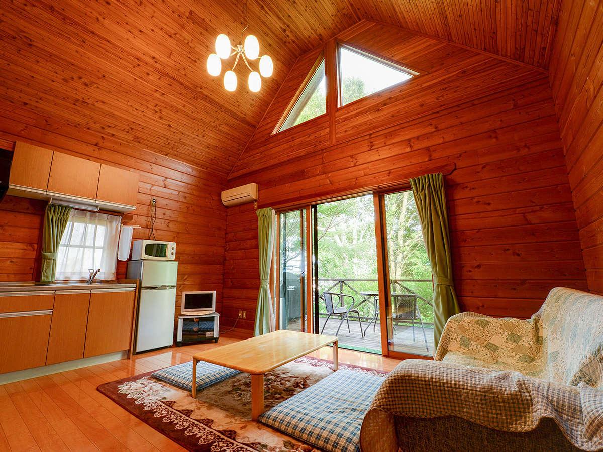 *【ログハウス/さくら亭南北】最大10名ご宿泊いただくいただくことが可能です。
