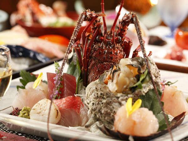伊豆の山海の幸をふんだんに使用した会席料理