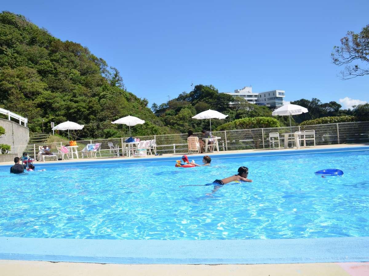 【夏季屋外プール】夏リゾート満喫!ホテル内でプール&海水浴満喫♪