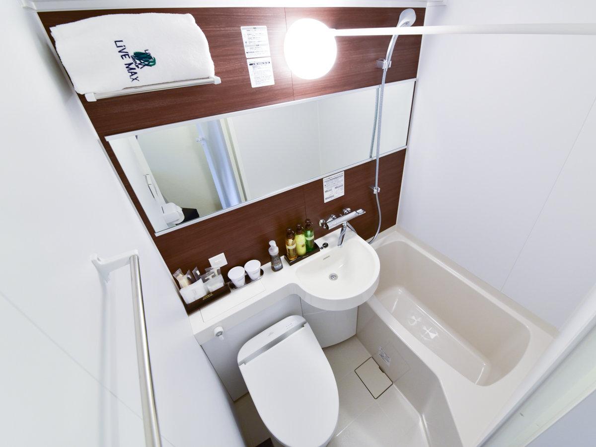 ◆客室ユニットバス。全室ウォシュレット完備です。◆