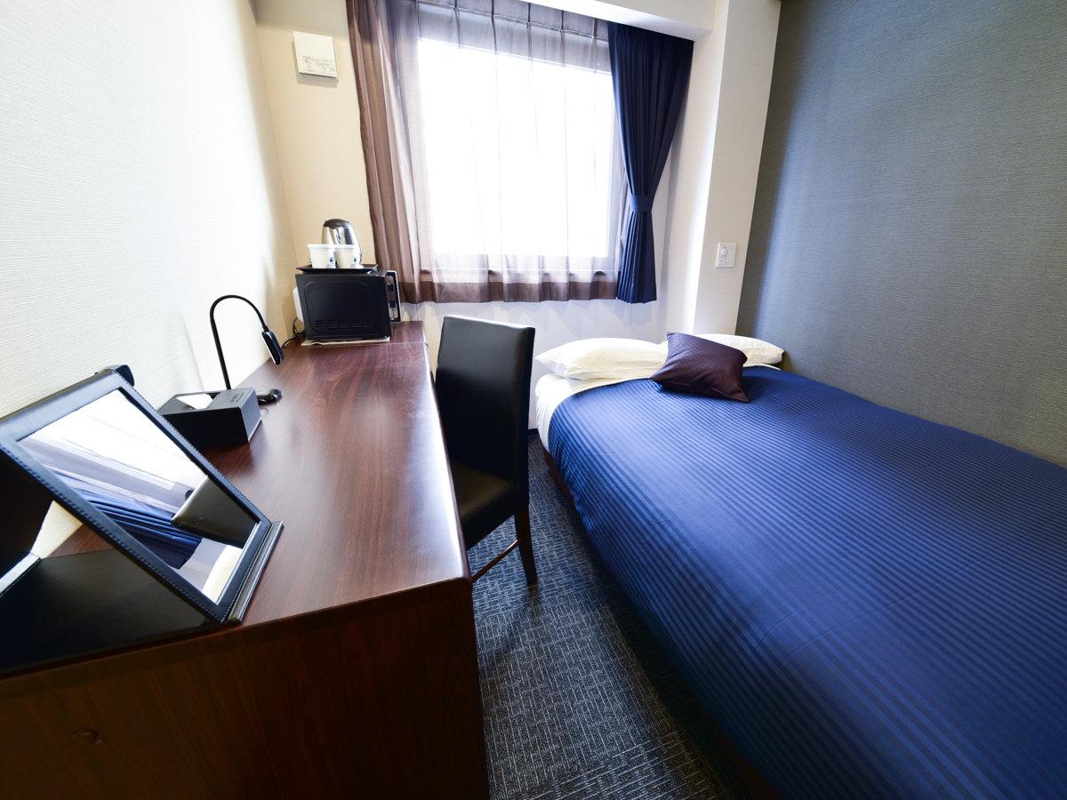 ◆シングルルーム◆広さ:11~12㎡ /120cm×195cm/全室シモンズベッド