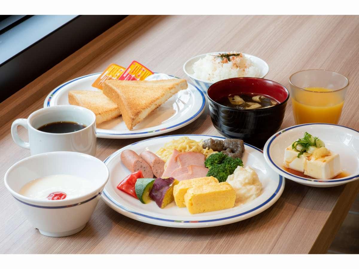 無料朝食バイキング(イメージ)