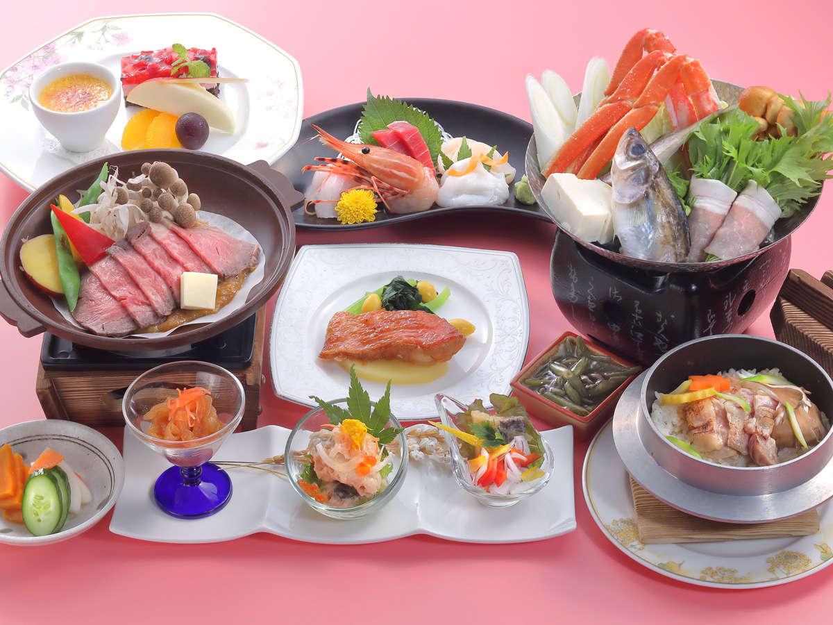 *【美食プラン】旬の味覚をご堪能いただける、ワンランク上のお料理をお愉しみください。