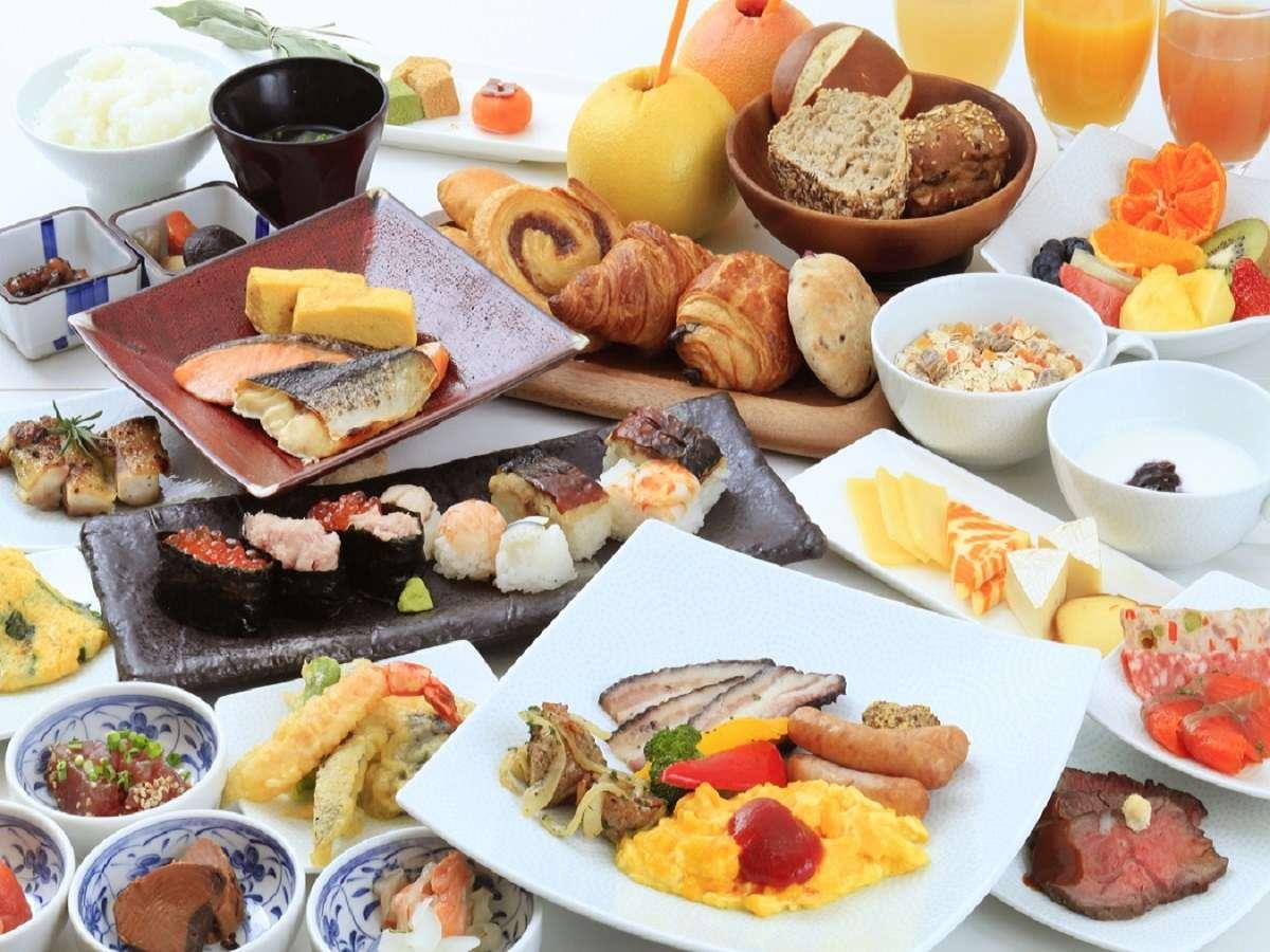 ※フルビュッフェ形式の朝食につきましては当面の間取りやめさせていただいております。