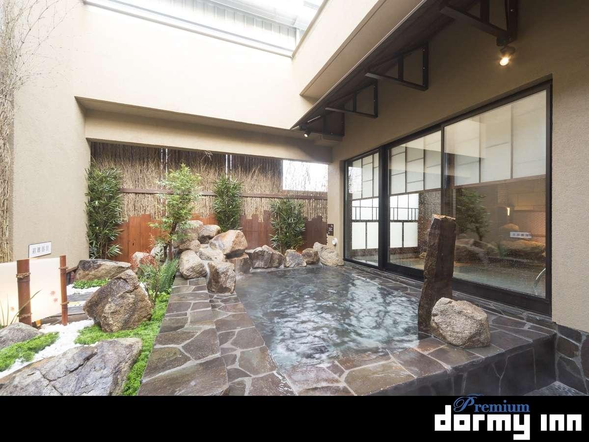 【女性】外気浴(湯温:41~42℃)
