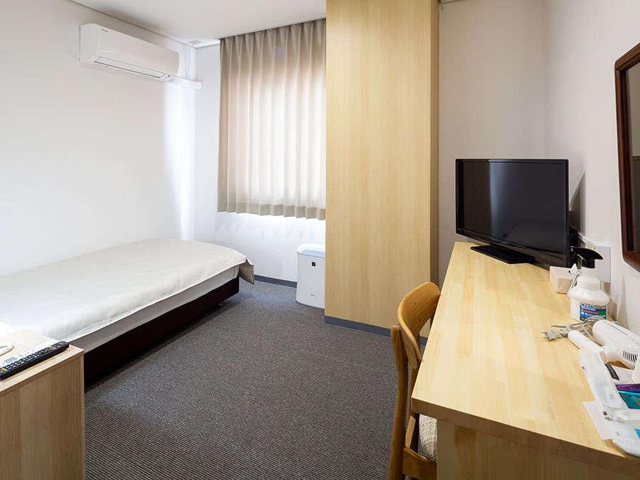 プライバシーの確保をお求めなら通常のシングルタイプのお部屋もございます。