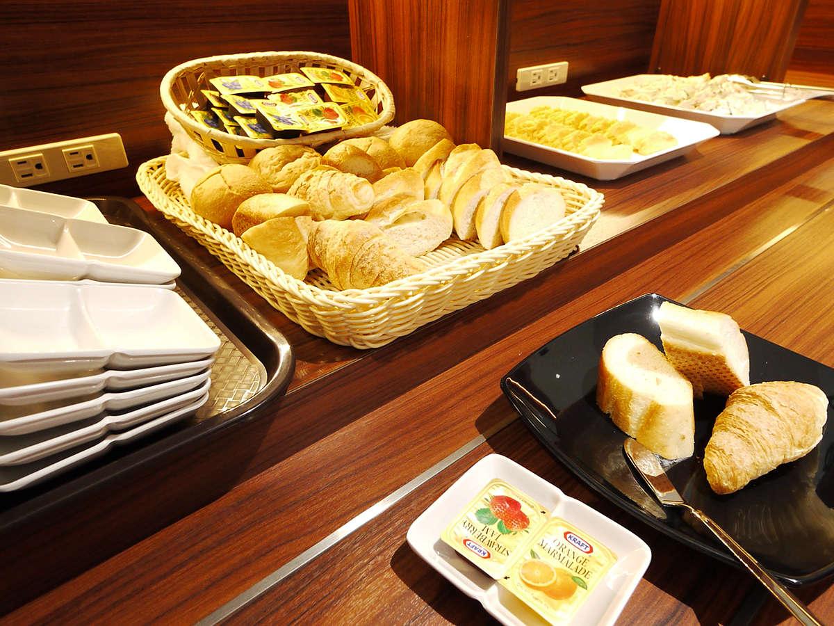 レストラン 充実した朝食バイキング パン派のお客様へ