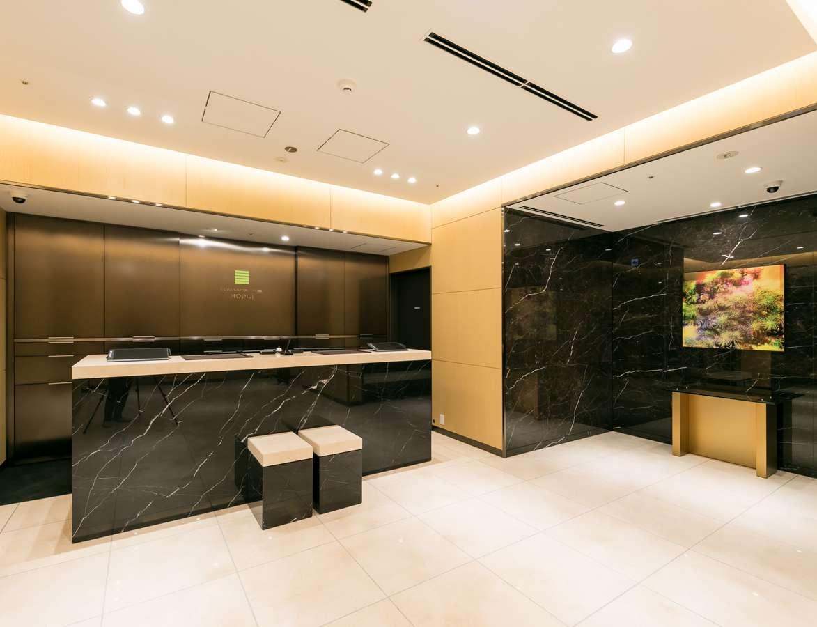 銀座キャピタルホテル萌木 ロビーは2階にございます