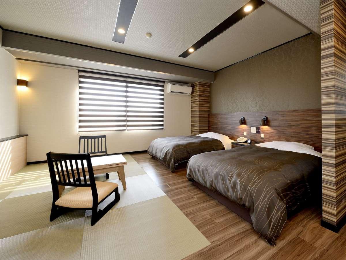 和室ツインルーム(ベッド幅1,200)