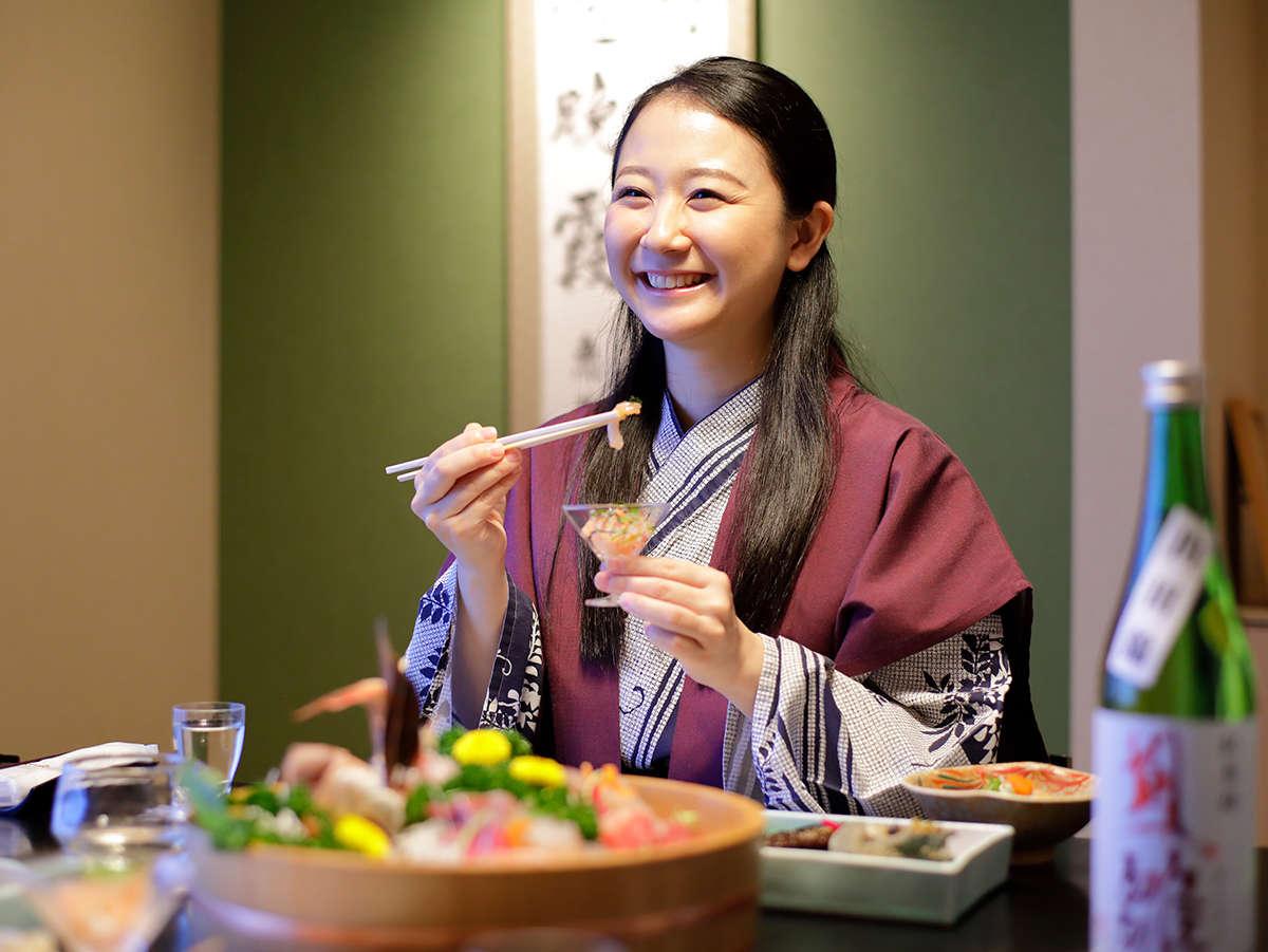 お食事のお供に日本酒はいかがですか?
