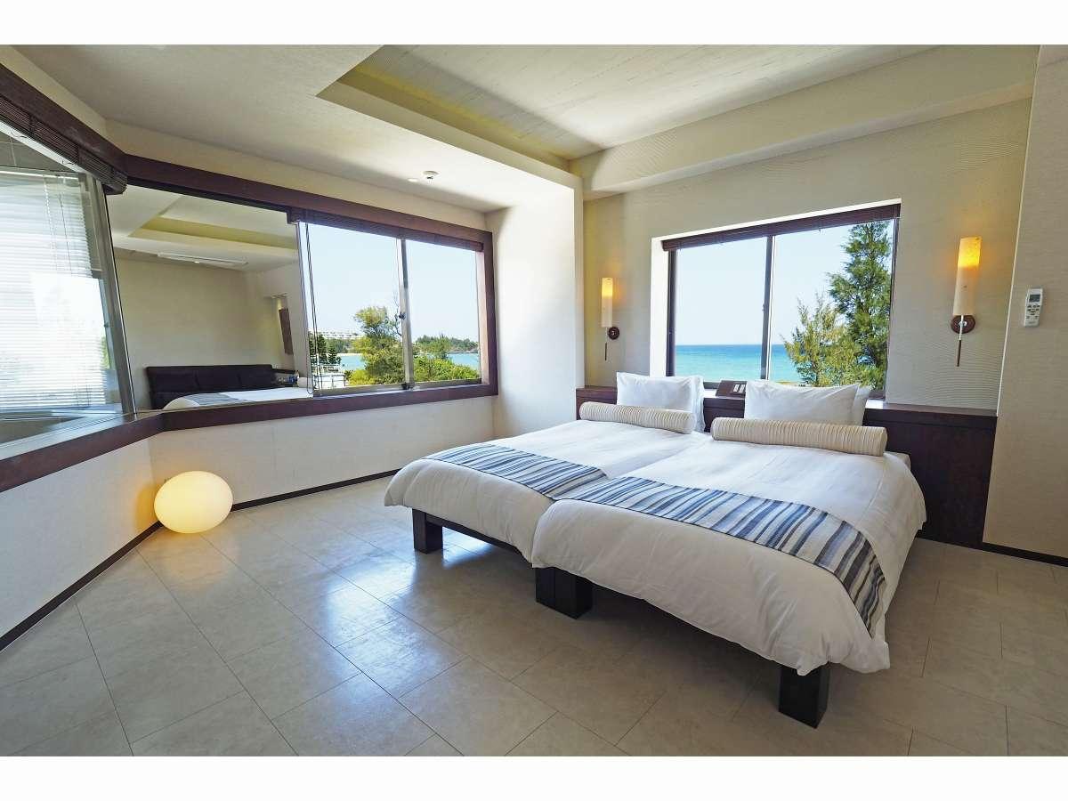 《パナシアツイン》 Room301(42.0平米)はビューバスを備えた、ゆったりと落ち着きある客室。