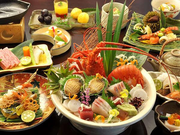 料理旅館の総調理長が厳選食材で創る【総調理長のおまかせ会席】イメージ