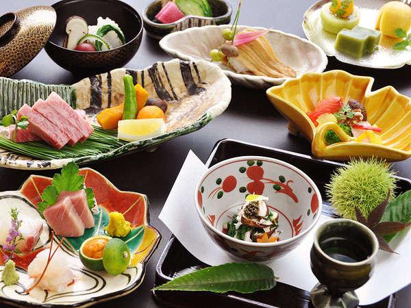 【美味少量会席】食材にこだわったお料理。※イメージ