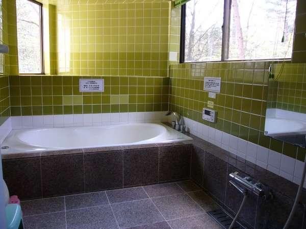 天然温泉100%のお風呂!