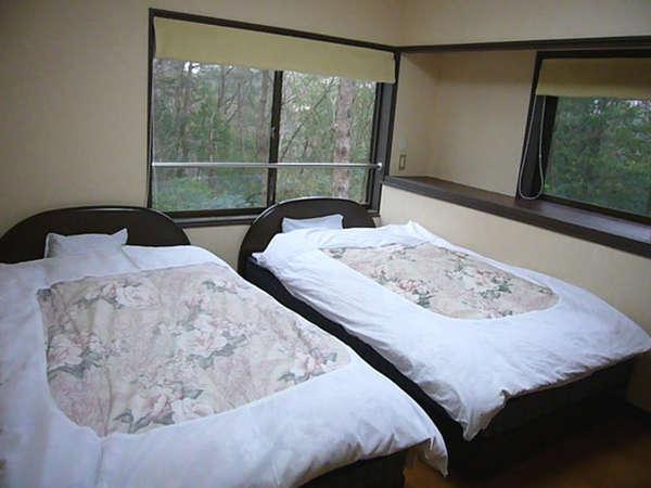 バリアフリーの寝室