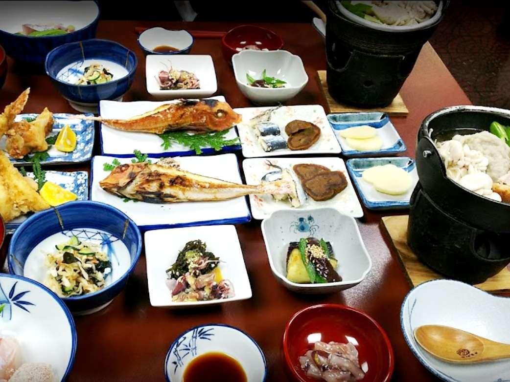 夕食(いしる鍋)
