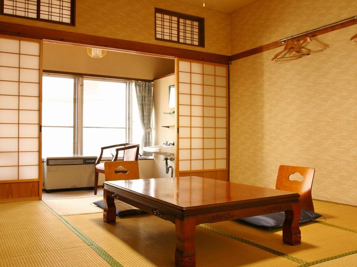 客室一例(春~秋)