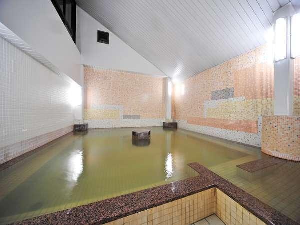 別館の天然温泉(源泉掛け流し)