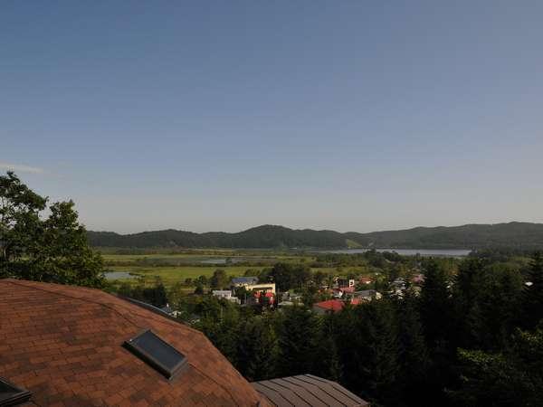 釧路湿原と塘路の町を見る