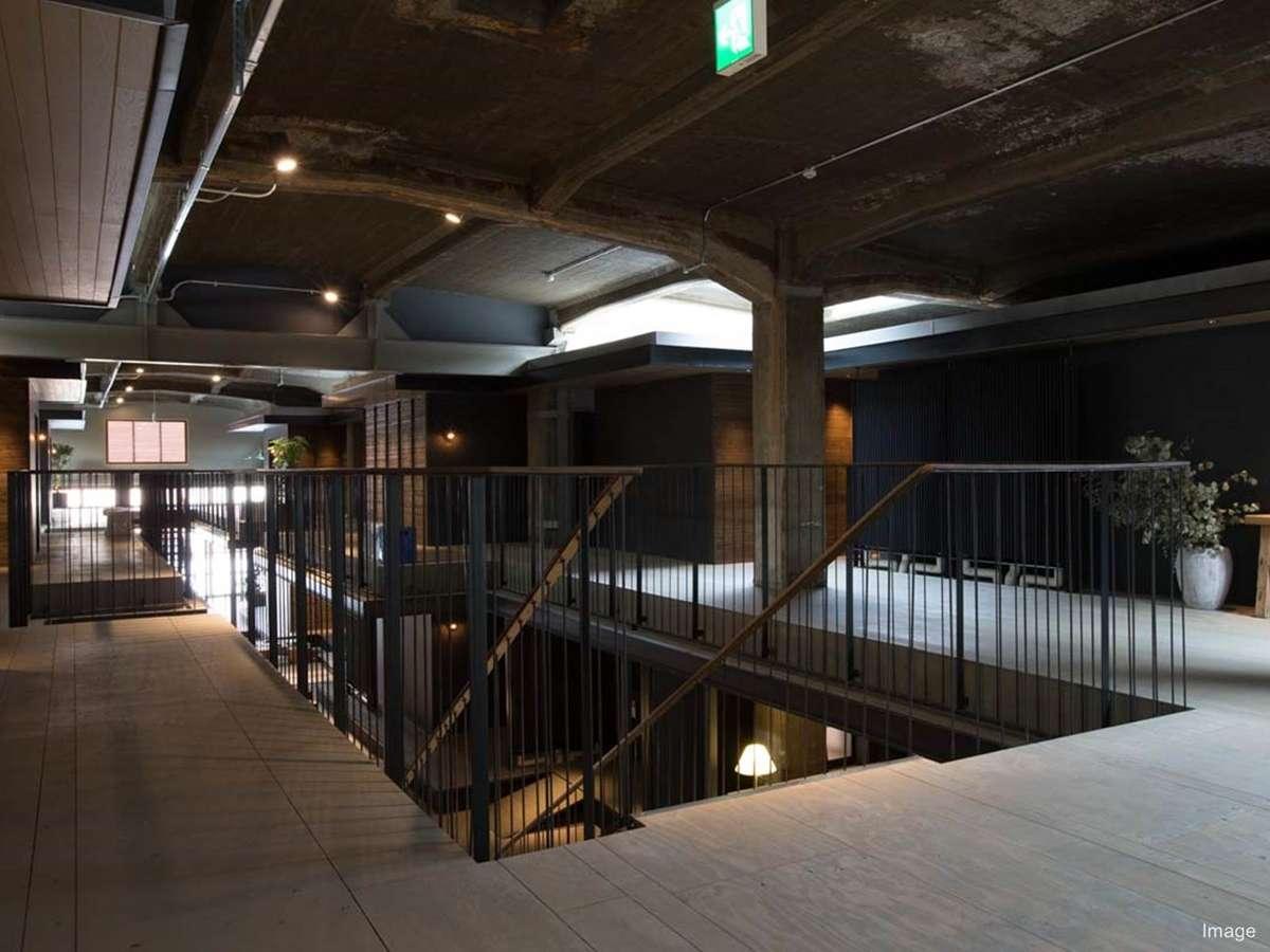 ■HOTEL CYCLE/パブリックスペース2階