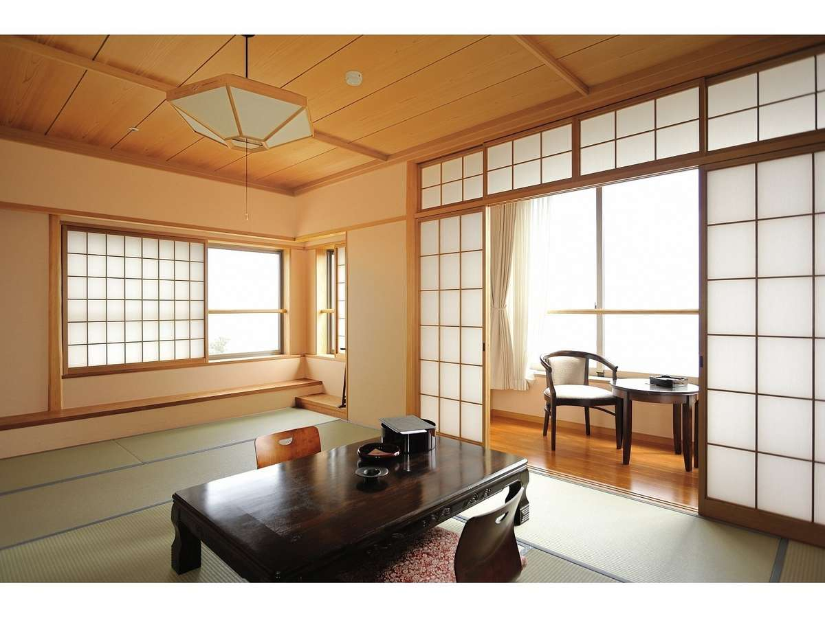 特別和室(最上階角部屋/琵琶湖眺望の部屋)