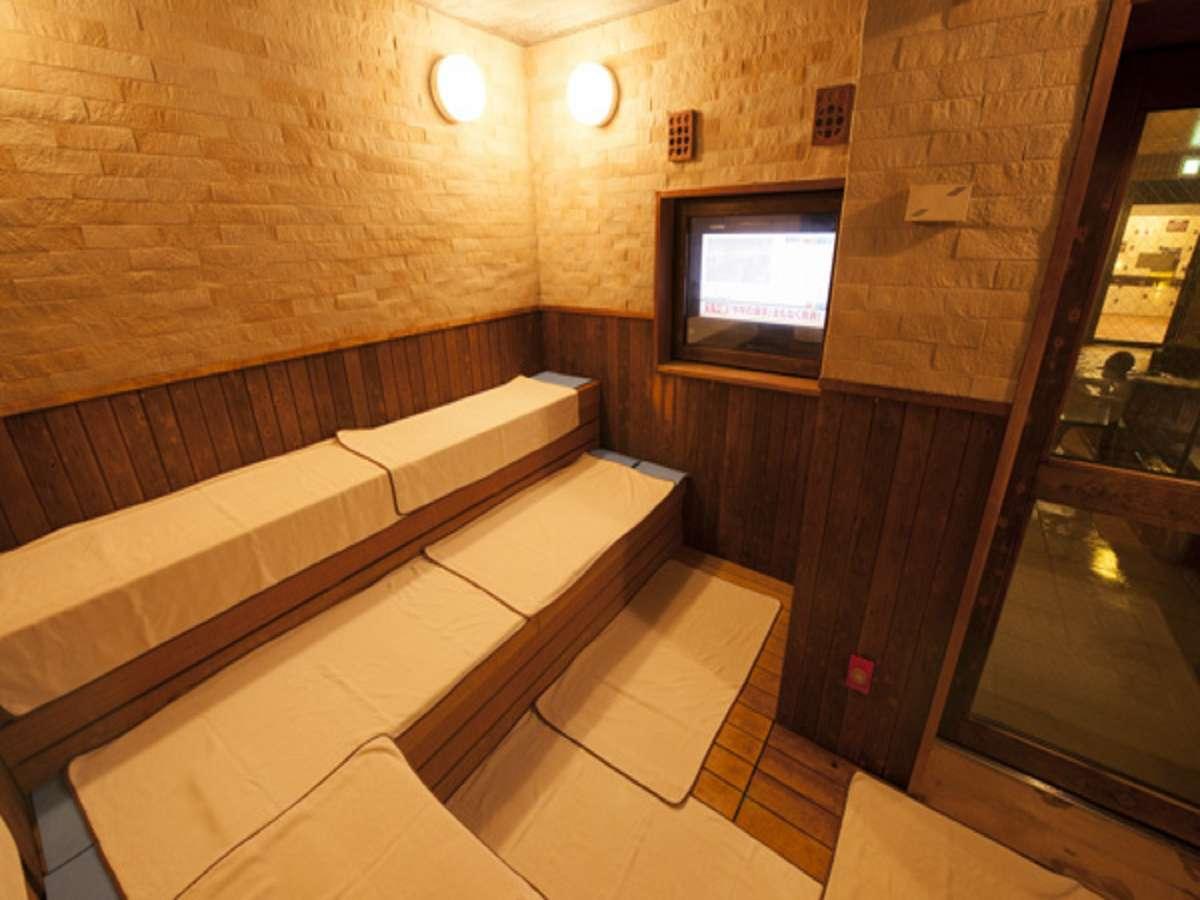 ■大浴場サウナ■※男性のみテレビ付き