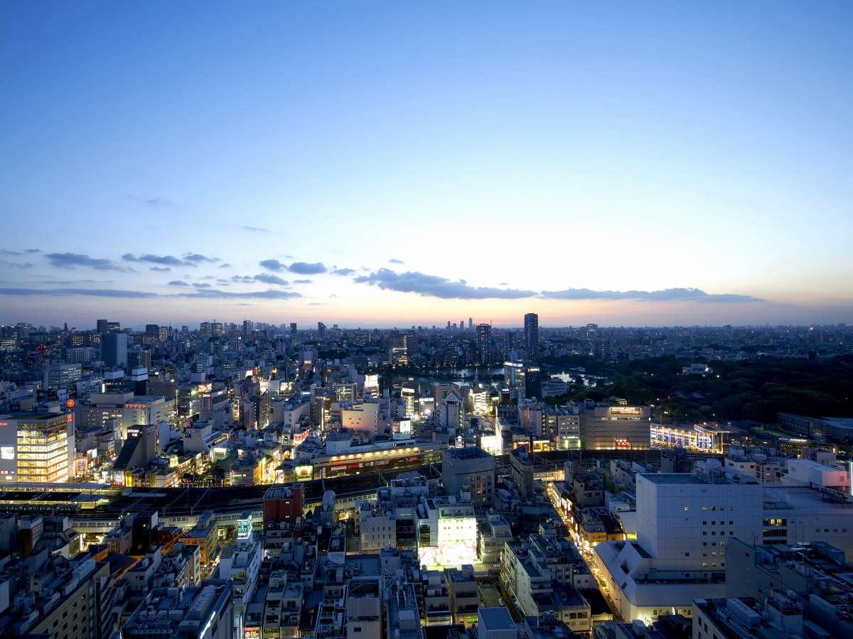 【パークサイドビュー】上野恩賜公園を臨み、四季折々の景色をお楽しみ頂けます。