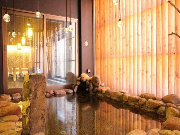 天然温泉「灯の湯」女性大浴場外気浴