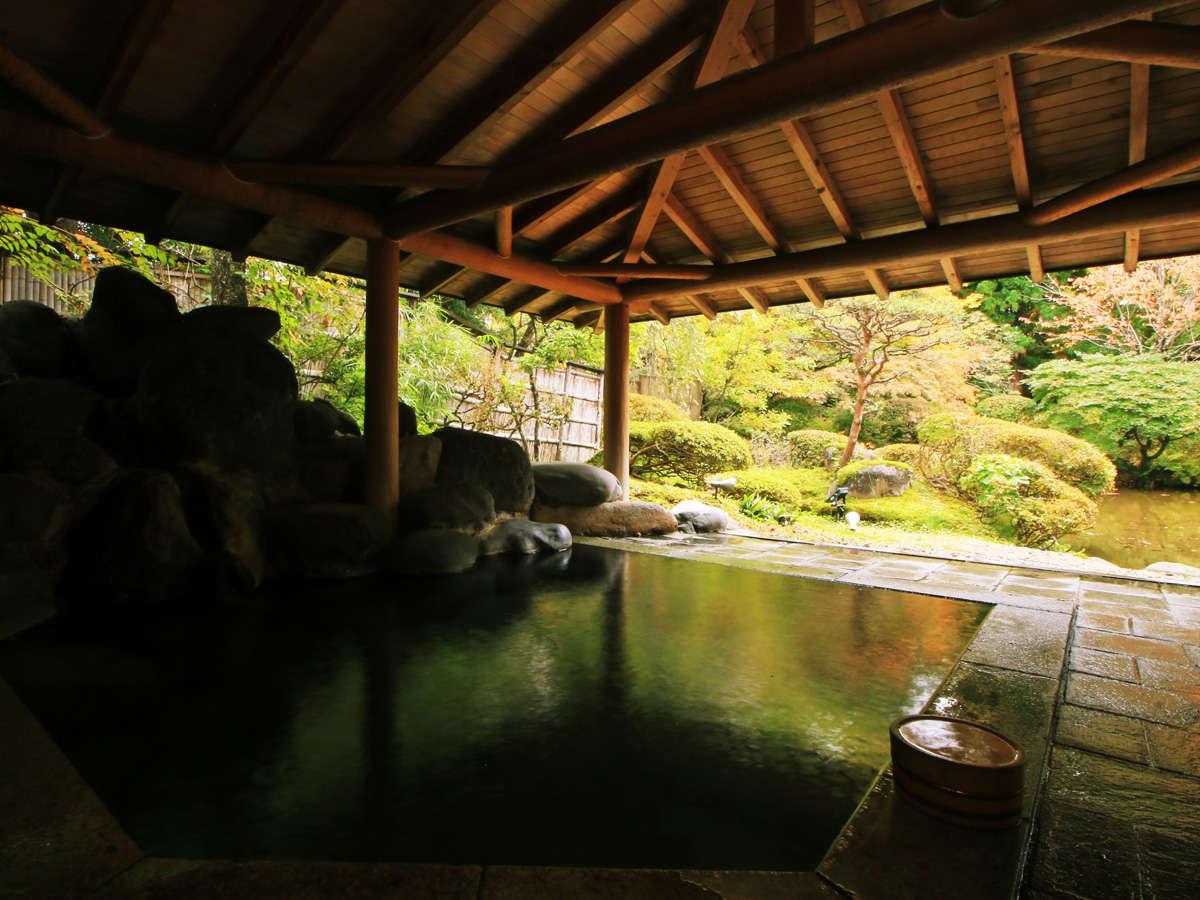 ◆天然石露天風呂-麗-800年もの間湧き出る名湯