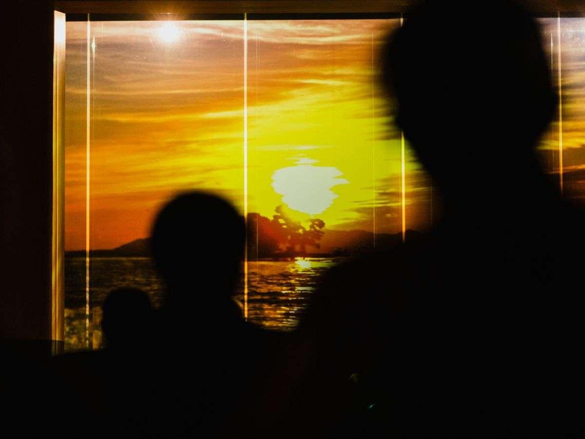【カレイドスクリーンイベント】宍道湖の夕景など、島根ならではの映像などご用意しております