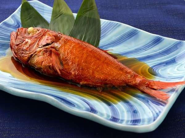 宿名物 伊豆金目鯛姿煮は伊豆の郷土料理です
