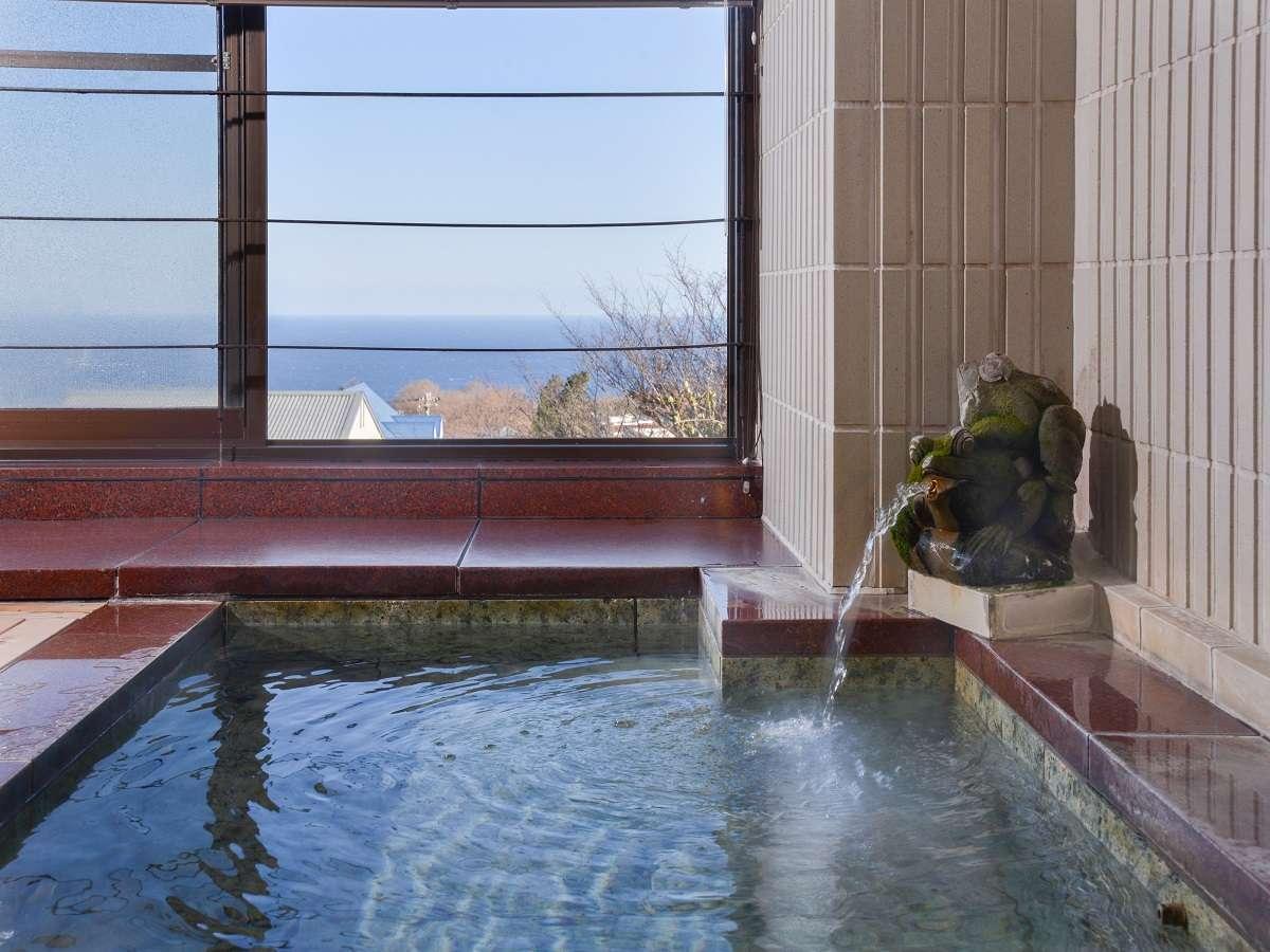 【特別室バリルーム】海望むテラス風呂があり、気ままに美肌温泉を楽しめる
