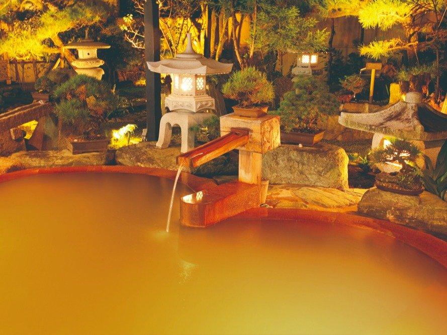 当荘自慢の庭園露天風呂(入替制)