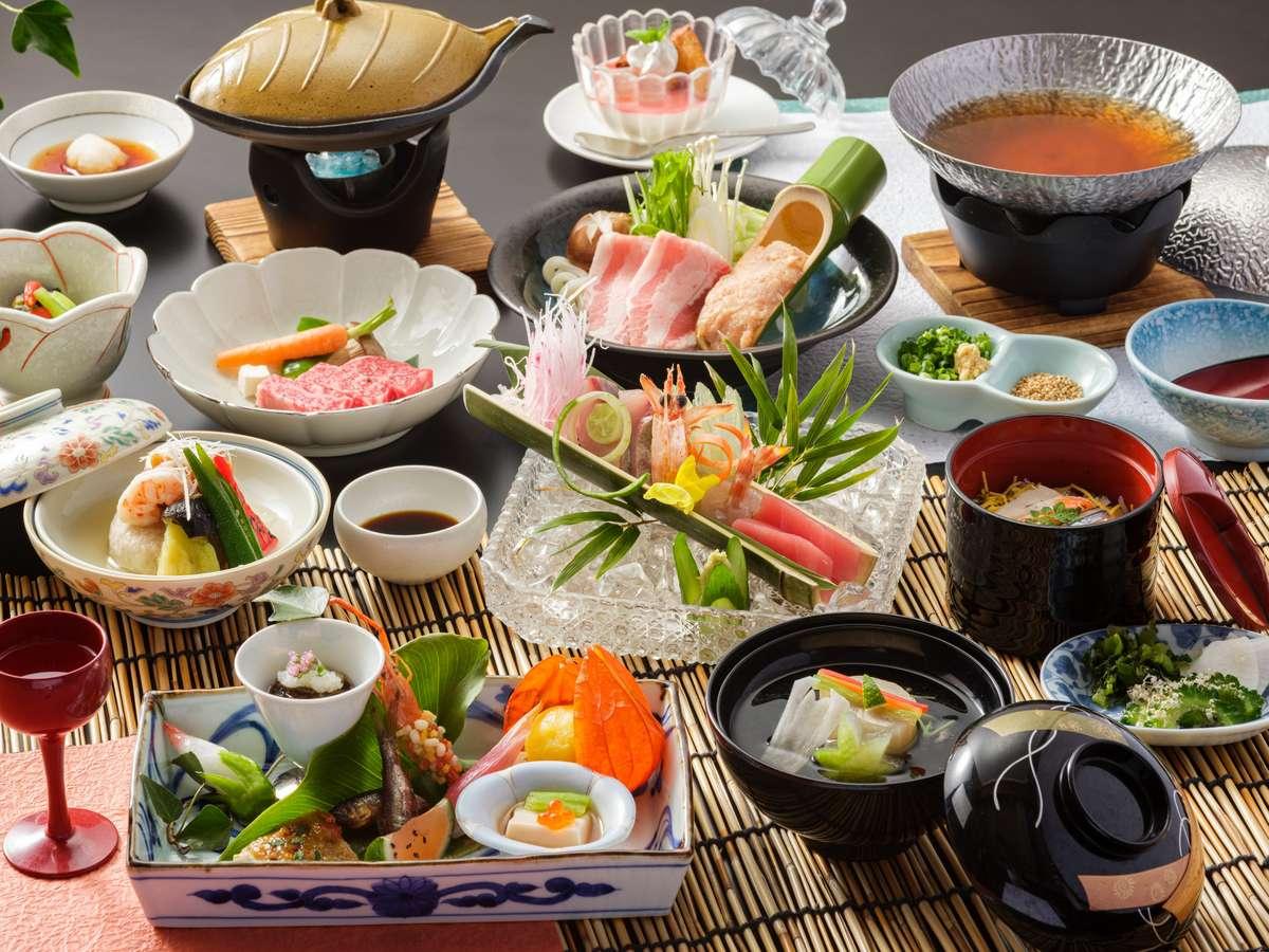 和食会席料理の一例