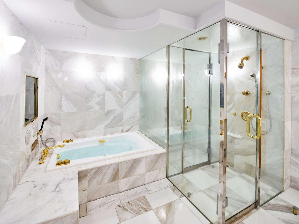 洋室・和洋室バスルーム一例 スチームサウナ・ジェットバス付