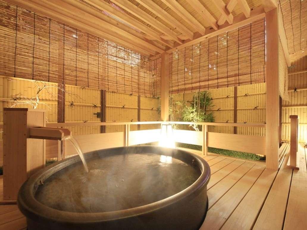 ◆別館◆和スイート かぐや・式部・雅 客室露天風呂