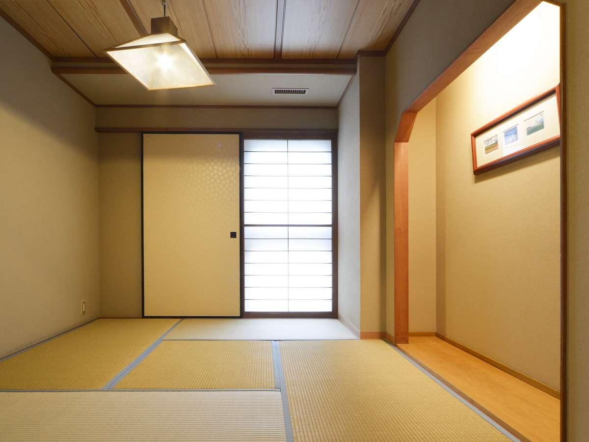 【和室12.5+4.5畳/50㎡】次の間はキャリースペース・寝室・語らい場など、思い思いに