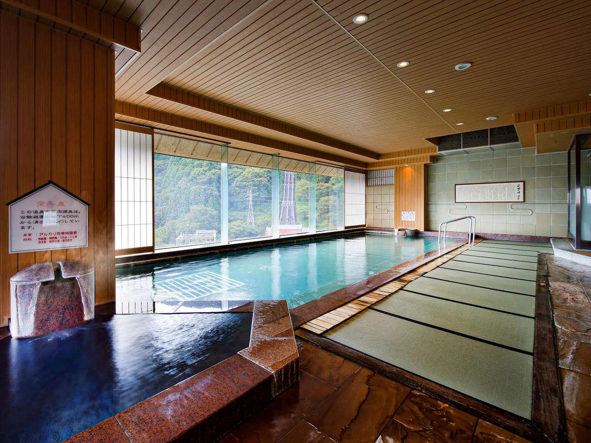 【展望大浴場】萩姫の湯