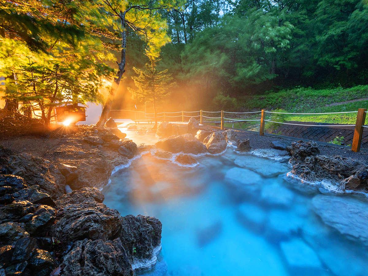 世界遺産 知床の原生林に包まれ、自然と一体となれる秘湯