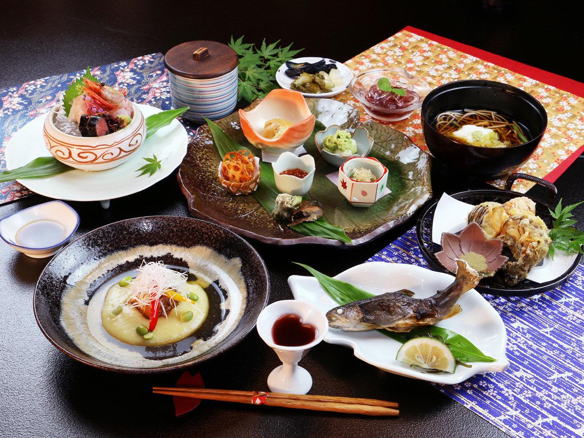 ■秋-松倉 旬の三陸の幸や自家栽培秋野菜、手打ち蕎麦などすべてが「とっておき」