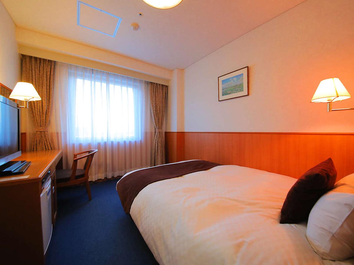 ■デラックスシングル■(ベッド幅140cm/17平米)『デュベスタイル』のベッドで快眠♪