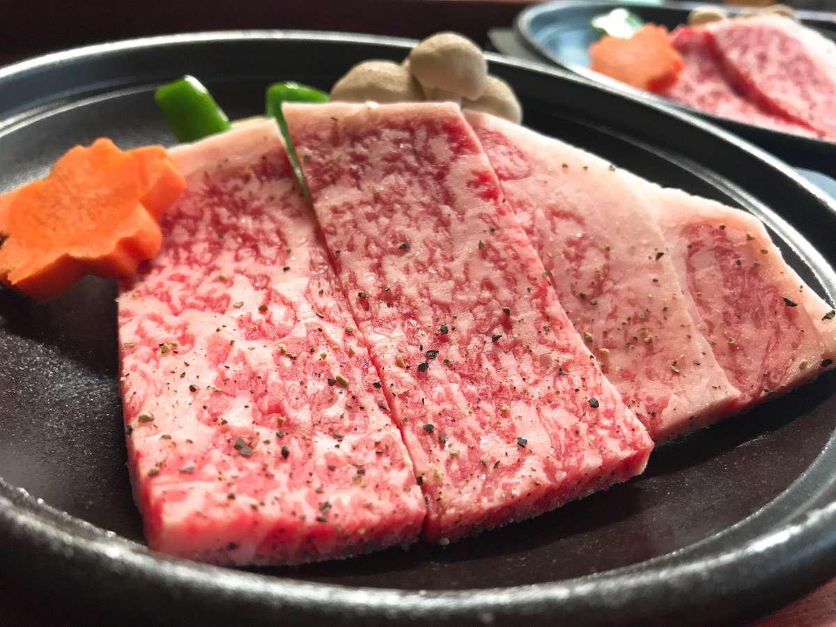 上州牛(2,200円)ご予約は3日前までにお願いします