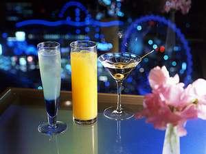 ○6階バー「2000」 オリジナルカクテルをはじめ、シャンパンやワインもグラスでご用意