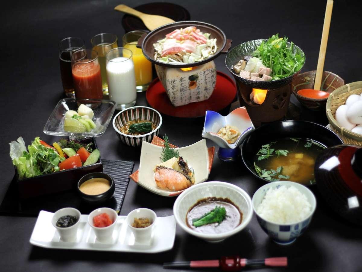 ☆【朝食】朝から三杯ご飯が食べたくなる程のおかずで朝から元気いっぱい!