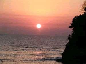 日の出も美しい五浦海岸