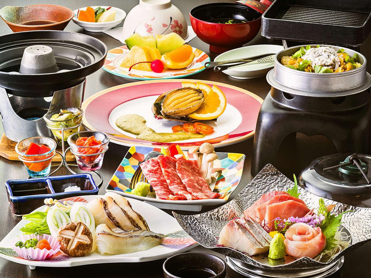 《DINING花筏》伊豆の恵みが食べられる和会席 ※お料理は季節や仕入れ状況により若干変わります