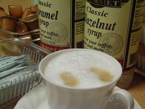 香り高い挽きたてのコーヒー♪