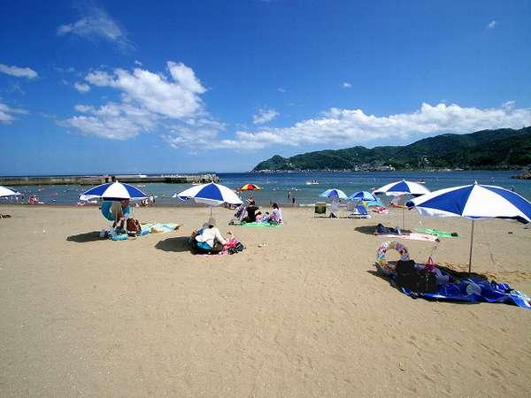 夏には・・海の家・ビアガーデン・花火広場・・楽しい楽しい・・ビーチです
