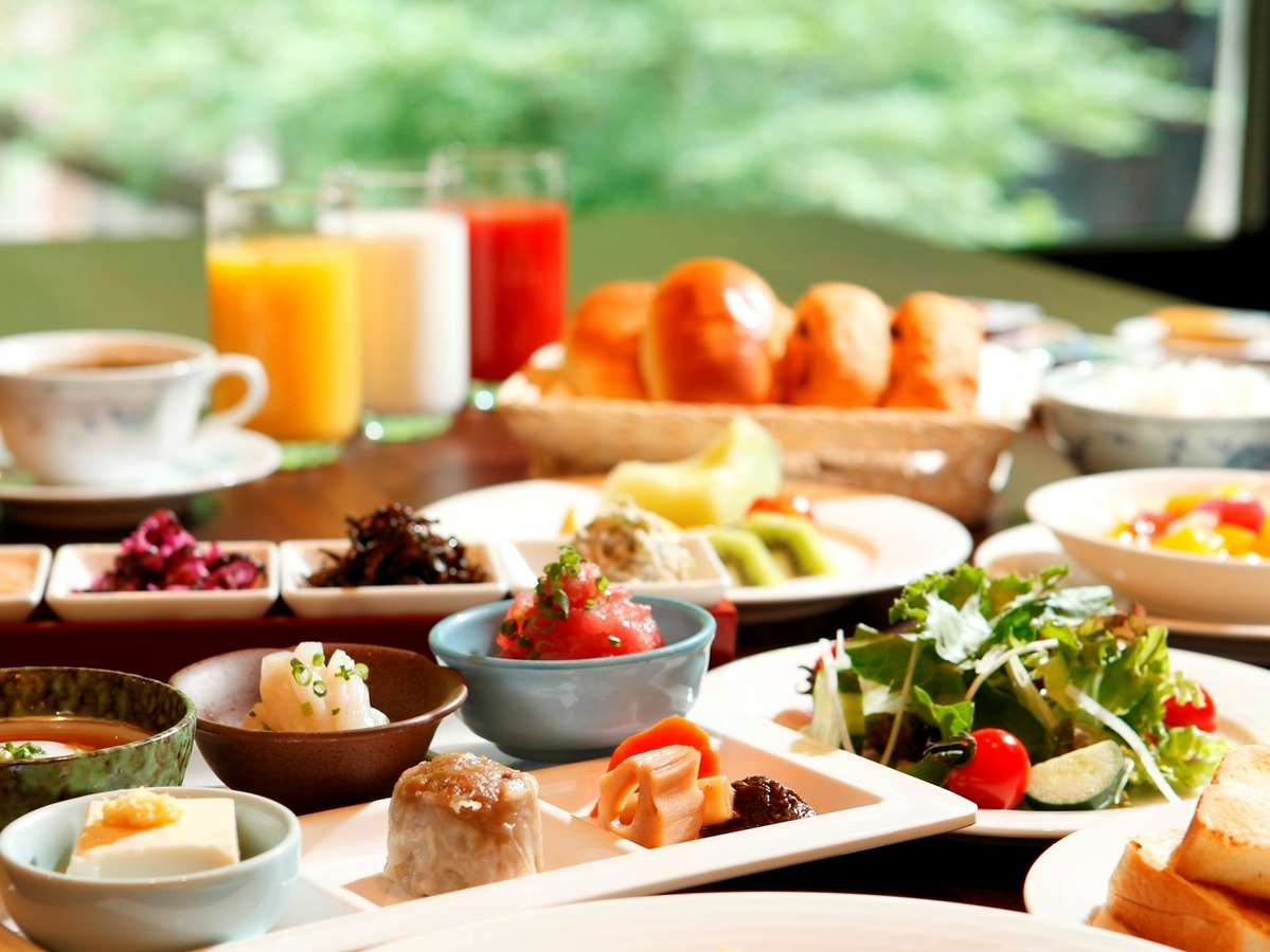 ◆朝食バイキング◆和食派も、洋食派も満足の品揃え(お料理はイメージです)